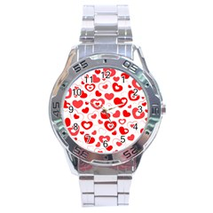 Cards Ornament Design Element Gala Stainless Steel Analogue Watch by Nexatart