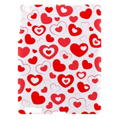 Cards Ornament Design Element Gala Apple Ipad 3/4 Hardshell Case