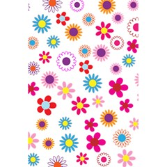 Floral Flowers Background Pattern 5 5  X 8 5  Notebooks by Nexatart