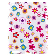 Floral Flowers Background Pattern Apple Ipad 3/4 Hardshell Case