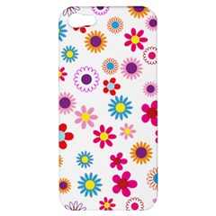 Floral Flowers Background Pattern Apple Iphone 5 Hardshell Case