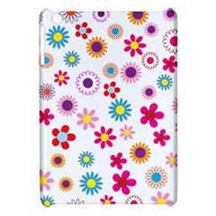Floral Flowers Background Pattern Apple Ipad Mini Hardshell Case by Nexatart