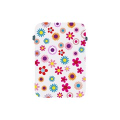 Floral Flowers Background Pattern Apple Ipad Mini Protective Soft Cases by Nexatart