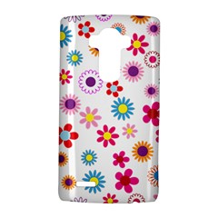 Floral Flowers Background Pattern Lg G4 Hardshell Case by Nexatart