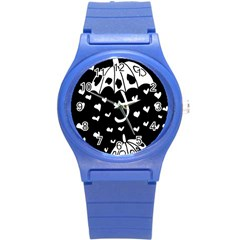 Mandala Calming Coloring Page Round Plastic Sport Watch (s)