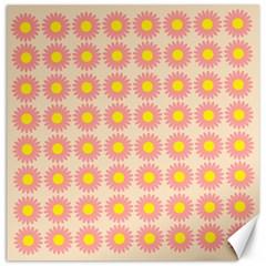 Pattern Flower Background Wallpaper Canvas 20  X 20   by Nexatart