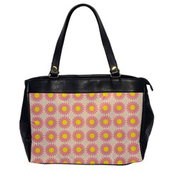 Pattern Flower Background Wallpaper Office Handbags