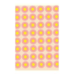 Pattern Flower Background Wallpaper Shower Curtain 48  X 72  (small)  by Nexatart