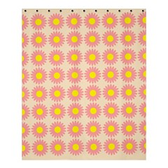 Pattern Flower Background Wallpaper Shower Curtain 60  X 72  (medium)