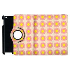 Pattern Flower Background Wallpaper Apple Ipad 3/4 Flip 360 Case