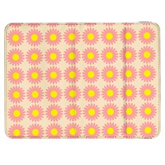 Pattern Flower Background Wallpaper Samsung Galaxy Tab 7  P1000 Flip Case
