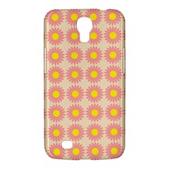 Pattern Flower Background Wallpaper Samsung Galaxy Mega 6 3  I9200 Hardshell Case by Nexatart