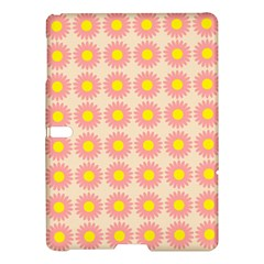 Pattern Flower Background Wallpaper Samsung Galaxy Tab S (10 5 ) Hardshell Case  by Nexatart