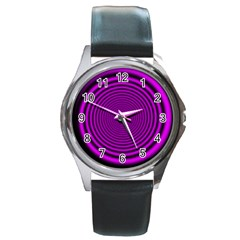 Background Coloring Circle Colors Round Metal Watch
