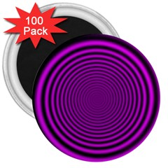 Background Coloring Circle Colors 3  Magnets (100 Pack)
