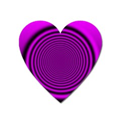 Background Coloring Circle Colors Heart Magnet by Nexatart