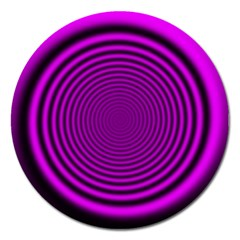 Background Coloring Circle Colors Magnet 5  (round)