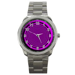 Background Coloring Circle Colors Sport Metal Watch