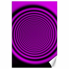 Background Coloring Circle Colors Canvas 12  X 18   by Nexatart