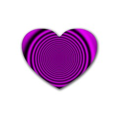 Background Coloring Circle Colors Heart Coaster (4 Pack)