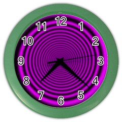 Background Coloring Circle Colors Color Wall Clocks