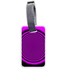 Background Coloring Circle Colors Luggage Tags (two Sides)
