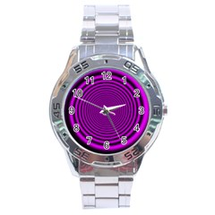 Background Coloring Circle Colors Stainless Steel Analogue Watch by Nexatart