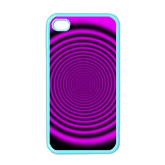 Background Coloring Circle Colors Apple Iphone 4 Case (color) by Nexatart