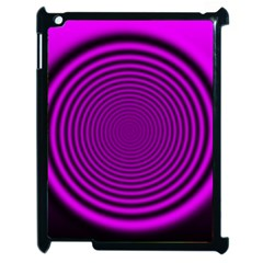 Background Coloring Circle Colors Apple Ipad 2 Case (black) by Nexatart
