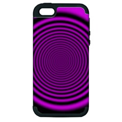 Background Coloring Circle Colors Apple Iphone 5 Hardshell Case (pc+silicone)