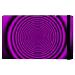 Background Coloring Circle Colors Apple Ipad 3/4 Flip Case by Nexatart
