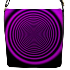 Background Coloring Circle Colors Flap Messenger Bag (s)