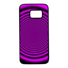 Background Coloring Circle Colors Samsung Galaxy S7 Black Seamless Case