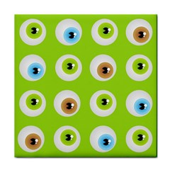 Eyes Background Structure Endless Tile Coasters by Nexatart