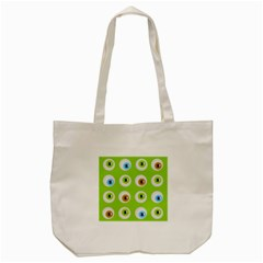 Eyes Background Structure Endless Tote Bag (cream) by Nexatart