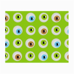Eyes Background Structure Endless Small Glasses Cloth by Nexatart
