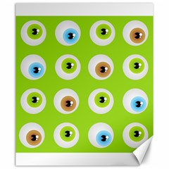 Eyes Background Structure Endless Canvas 20  X 24   by Nexatart