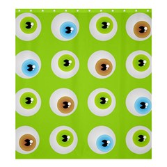Eyes Background Structure Endless Shower Curtain 66  X 72  (large)  by Nexatart