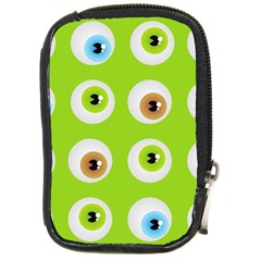 Eyes Background Structure Endless Compact Camera Cases