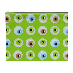 Eyes Background Structure Endless Cosmetic Bag (xl)