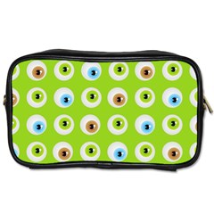 Eyes Background Structure Endless Toiletries Bags 2 Side by Nexatart