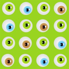 Eyes Background Structure Endless Magic Photo Cubes