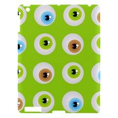 Eyes Background Structure Endless Apple Ipad 3/4 Hardshell Case by Nexatart