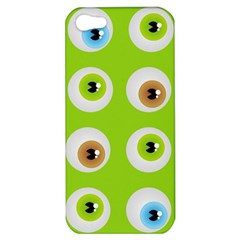 Eyes Background Structure Endless Apple Iphone 5 Hardshell Case