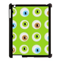 Eyes Background Structure Endless Apple Ipad 3/4 Case (black) by Nexatart