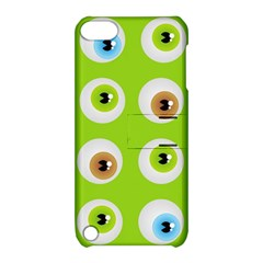 Eyes Background Structure Endless Apple Ipod Touch 5 Hardshell Case With Stand by Nexatart