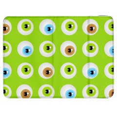 Eyes Background Structure Endless Samsung Galaxy Tab 7  P1000 Flip Case by Nexatart