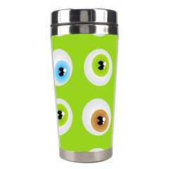 Eyes Background Structure Endless Stainless Steel Travel Tumblers by Nexatart