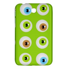 Eyes Background Structure Endless Samsung Galaxy Tab 3 (7 ) P3200 Hardshell Case  by Nexatart