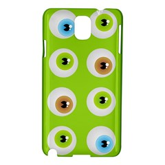 Eyes Background Structure Endless Samsung Galaxy Note 3 N9005 Hardshell Case